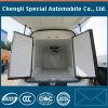 O caminhão de Dongfeng montou a carga Refrigerated caixa Refrigerated Van da unidade