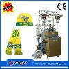 Schutzkappen-u. Schal-Strickmaschine reinigen