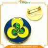 Metallabzeichen mit weichem Decklack