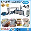 최신 판매 Zhuging PP에 의하여 길쌈된 Facbric 필름 두 배는 기계를 박판으로 만드는 정지한다