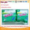Serviettes hygiéniques de marque de fille d'espoir, 10+5 garnitures sanitaires de PCS, doublures libres de Panty