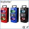 Alto-falante X-Bass Hi-Fi de madeira portátil com USB / SD / FM / Karaoke (XH-PS-718)