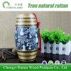 Ceramische Vaas van het Porselein van het bamboe de Wevende voor het Decor van het Hotel van het Huis
