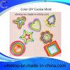 China-Export neueste DIY ABS Plastikplätzchen-Scherblock-Form