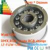 bomba sumergible de la fuente 12W con la luz del LED, luz impermeable de la fuente del LED