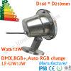 12V 12W, 304 316 proyector subacuático inoxidable del acero 12W IP68 LED