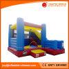Castello rimbalzante del giocattolo gonfiabile su ordinazione del PVC combinato con la trasparenza (T3-457)