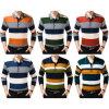 Chemise de polo classique de piqué d'hommes de coton de mode (A308)