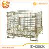 Escaninho de armazenamento dobrável de aço do fio para a indústria F27 da pré-forma do animal de estimação
