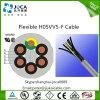 cabo de controle da bainha do PVC de 300/500V H05VV5-F