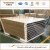 el panel de emparedado incombustible de las lanas de roca de 50m m con el borde del aislante de la PU para la azotea