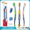 Hauptannehmlichkeiten verwendete erwachsene Zahnbürste