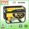 gerador elétrico silencioso da gasolina do gás da gasolina 3.0kw