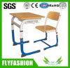 وحيد مدرسة قاعة الدرس طالب [أدجوستبل] مكتب مع كرسي تثبيت نمو تصميم مكتب مع [بّ] كرسي تثبيت