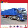 3 Radachsen-Traktor-Förderwagen-seitlicher ausgebender hydraulischer Speicherauszug-Schlussteil