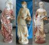 Скульптура сада каменная мраморный для домашнего украшения (SY-C1233)