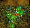 Cadena ligera solar de la mariposa solar elegante - color 20 que cambia mariposas del LED