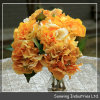 Wedding DecorationのためのOrrange Giant Artificial Silk Flowers