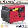 groupe électrogène 6.5kw diesel refroidi à l'air silencieux (DG8000SE)