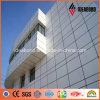 Прочное ребро алюминия покрытия цвета строительного материала