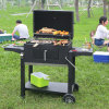Im Freien Use Charcoal BBQ Bee/Fish/Meat Barbecue Smoker für Camping