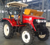 2016 de Hete Tractor van het Landbouwbedrijf van de Stijl van het Wiel van de Verkoop 90HP 4WD