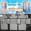 O escaninho de armazenamento do gelo colou o logotipo personalizado