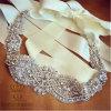 Пояс уравновешивания Applique Rhinestone платья венчания невесты, вспомогательное оборудование DIY