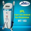 O IPL vertical Shr Opt máquina permanente da remoção do cabelo