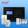 Exhibición del LCD y seguridad casera sin hilos de la casa del G/M contra el hogar Soan Sn5 del sistema del dispositivo antirrobo del ladrón
