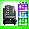 25X12W Clay Packy RGB-W Matrix Moving Heads