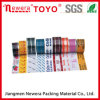 Color Transparent BOPP Packing Tape, BOPP Packing Tape con Custom Logo Printed