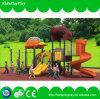 Kind-Fertigung-Spiel-Gerät schiebt im Freienspielplatz für Zubehör