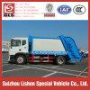 쓰레기 쓰레기 압축 분쇄기 트럭 적당한 고명한 상표 Dongfeng 10 Cbm 쓰레기 수송 압축 졸작 트럭