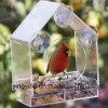 De in het groot Grote Voeder van de Vogel van het Venster met Verwijderbaar Dienblad, de Gaten van het Afvoerkanaal & Modieuze Verpakking
