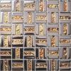 De Tegel van het Mozaïek van het Glas van het kristal mengde Roestvrije Stess voor de Bekleding van de Muur (fydj-1548A)