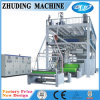 Machine 2016 non tissée simple de tissu de vis de Zhuding