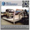 Aterrizaje completo de Isuzu carro de remolque plano de 9 toneladas