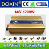 60V DC에 AC 는 가정 보급 체계 110V 220V Power Inevrter 1200W를 위한 Inverter를 세운다