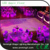 Blanco y Negro Interactivo LED Dance Floor