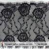 Schwarze Sexy Wimper Lace für Dress Material (M2180)