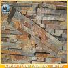 Außenwand-Umhüllung-Riff gestapelter Steinfurnier-blattgroßverkauf-Schiefer