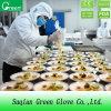 Ясные устранимые перчатки пластмассы кухни