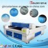 Maquinaria da estaca do laser da base lisa do tamanho dos materiais do metalóide grande