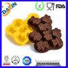 Kundenspezifische Form-Kuchen-Form-Silikon-Schokoladen-Großhandelsform