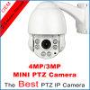 D'IP de vitesse de dôme mini PTZ appareil-photo de la vision nocturne IR 3MP
