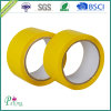 黄色いカラーBOPP低雑音の付着力のパッキングテープ
