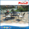 던지기 Aluminum Outdoor Furniture Round Barbecue Table와 정원 Chair