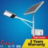 일생 130lm/W 옥외 LED 태양 가로등을 작동하는 80000 시간