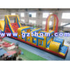 Cours d'obstacle gonflable Bouncer / Park Adult Cours d'obstacle gonflable